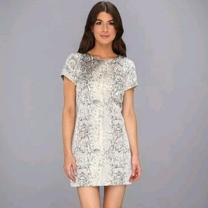 NWT SANCTUARY Silver & Gold Party Shift Dress